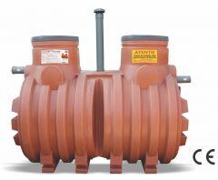 Fosa septica  3500 litri bicamerala 5-6 persoane Valrom