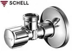 Robinet coltar 1/2 x 3/8 Schell Confort