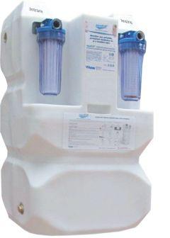 Sistem AquaPur de filtrare stocare si pompare a apei FSP 300 litri
