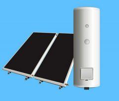 Sistem complet  panouri solare plane 4 persoane varianta PPIB-2S-200