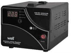 Stabilizator de tensiune cu servomotor 1000va 600w Well