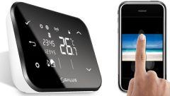 Termostat wireless Salus it500 BM si control prin internet pentru centrale Vaillant