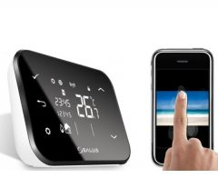 Termostat wireless Salus it500 cu control prin internet
