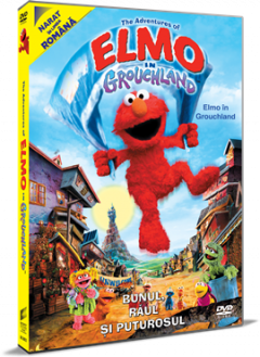 Aventurile lui Elmo in Grouchland / Elmo in Grouchland - DVD