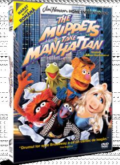 Muppets cuceresc Manhattan-ul / The Muppets Take Manhattan - DVD