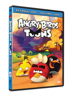 Angry Birds Toons Sezonul 2 Volumul 1 - DVD