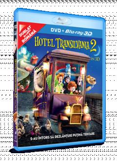 Hotel Transilvania 2 / Hotel Transylvania 2 BD 3D + DVD