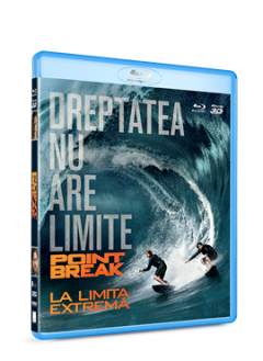 La limita extrema / Point Break - BLU-RAY 2D si 3D