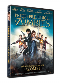 Mandrie, Prejudecata si Zombi / Pride and Prejudice and Zombies - DVD