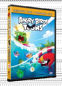 Angry Birds Toons Sezonul 3 Volumul 1 - DVD