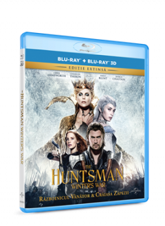 Razboinicul Vanator si Craiasa Zapezii / The Huntsman: Winter's War - BLU-RAY 3D+2D