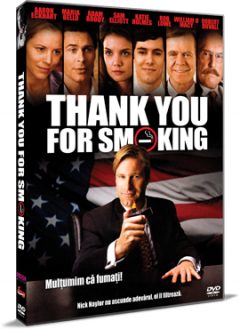 Multumim ca fumati! / Thank You For Smoking - DVD