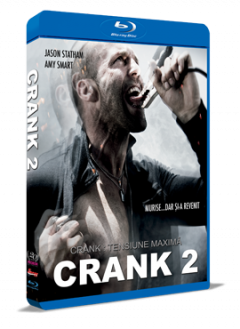 Crank 2: Tensiune maxima / Crank 2: High Voltage - BLU-RAY
