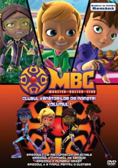 Clubul Vanatorilor de Monstri / Monster Buster Club - Volumul 1 - DVD