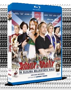 Asterix & Obelix: In Slujba Majestatii Sale / Asterix & Obelix: Au service de sa Majeste - BLU-RAY