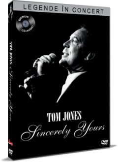 Legende in concert: Tom Jones / Tom Jones: Sincerely Yours - DVD + CD audio bonus