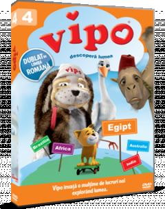 Vipo descopera lumea / Vipo: Adventures of the Flying Dog - Sezonul 1 Volumul 4 - DVD
