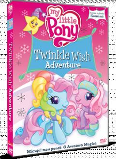 Micutul meu Ponei: O aventura magica / My Little Pony: Twinkle Wish Adventure - DVD