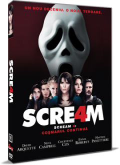 Scream 4: Cosmarul continua / Scream 4 - DVD
