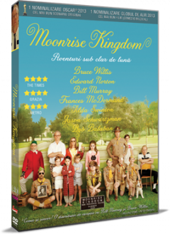 Aventuri sub clar de luna / Moonrise Kingdom - DVD