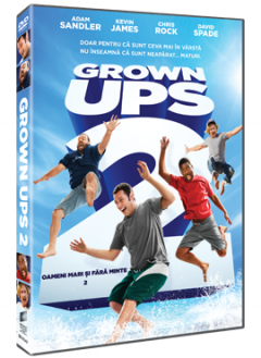 Oameni mari si fara minte 2 / Grown Ups 2 - DVD