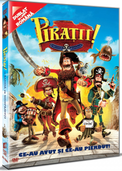 Piratii! O banda de neispraviti / The Pirates! Band of Misfits - DVD