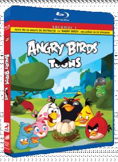 Angry Birds Toons Sezonul 1 Volumul 1 - BLU-RAY
