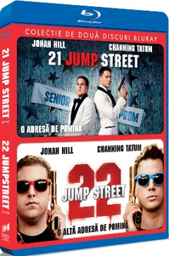 21 Jump Street: O adresa de pomina & 22 Jump Street: O alta adresa de pomina (2 filme) - BLU-RAY