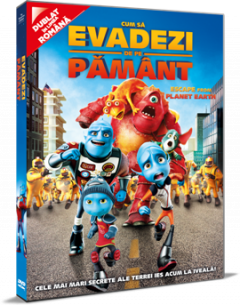 Cum sa evadezi de pe Pamant / Escape From Planet Earth - DVD