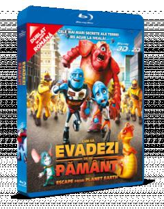 Cum sa evadezi de pe Pamant / Escape From Planet Earth - BD 3D + 2D