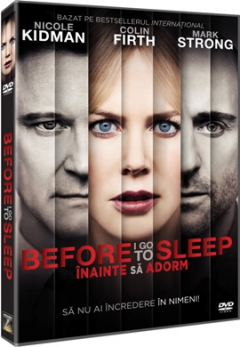 Inainte sa adorm / Before I Go To Sleep - DVD