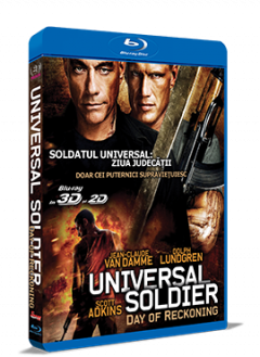 Soldatul Universal 4: Ziua Judecatii / Universal Soldier: Day of Reckoning - BLU-RAY 3D si 2D