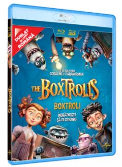 Boxtroli / The Boxtrolls - BLU-RAY 3D+2D