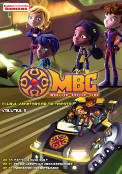 Clubul Vanatorilor de Monstri / Monster Buster Club - Volumul 6 - DVD