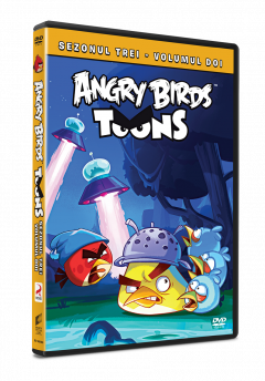 Angry Birds Toons Sezonul 3 Volumul 2 - DVD