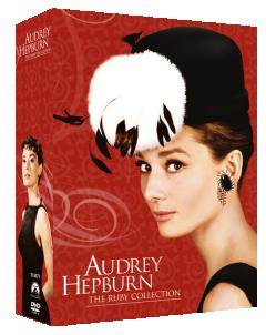 Colectia Audrey Hepburn 1 (contine trei filme: Sabrina, Vacanta la Roma si Mic dejun la Tiffany's) / Audrey Hepburn: The Ruby Collection - 3 filme - DVD