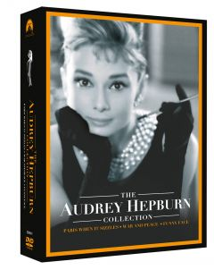 Colectia Audrey Hepburn 2 (contine 3 filme: Parisul zgomotos, Razboi si pace si Funny Face) / The Audrey Hepburn Collection Two - 3 filme - DVD