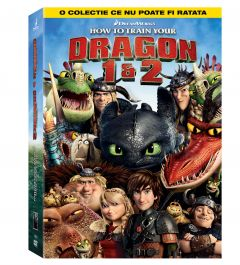 Colectia Cum sa iti dresezi Dragonul 1 si 2 / How to train Your Dragon 1 & 2 - DVD (2 filme)