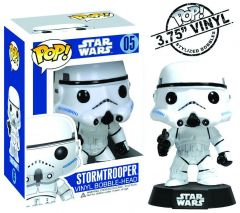 Figurina Funko Pop Star Wars: Stormtrooper Vinyl Collectible Bobble-Head Action Figure