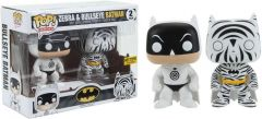 Figurine Funko Pop Heroes: Zebra & Bullseye Batman Vinyl Collectible Action Figure (2 figurine)