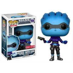 Figurina Funko Pop Games - Mass Effect Andromeda: Peebee (with gun) Vinyl Collectible Action Figure