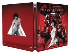 Ghost in the Shell - BLU-RAY 3D + 2D (Steelbook editie limitata)