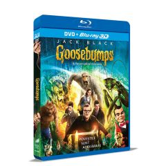 Goosebumps: Iti facem parul maciuca / Goosebumps - BLU-RAY 3D + DVD