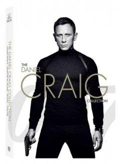 James Bond: Daniel Craig Collection (Casino Royale, Quantum of Solace, Skyfall, SPECTRE) - (4 filme) - DVD