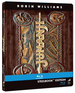Jumanji - BLU-RAY (Board game Steelbook)