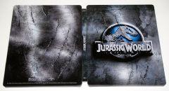 Jurassic World (Jurassic Park 4) - BLU-RAY 2 discuri - 3D + 2D (Steelbook editie limitata)