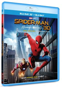 Omul-Paianjen: Intoarcerea acasa / Spider-Man: Homecoming - BLU-RAY 3D + 2D