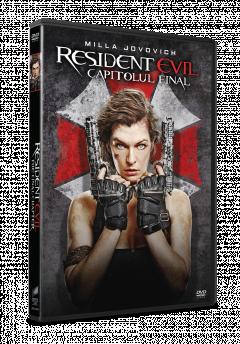 Resident Evil: Capitolul Final / Resident Evil: The Final Chapter - DVD