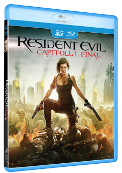 Resident Evil: Capitolul Final / Resident Evil: The Final Chapter - BD 3D + 2D