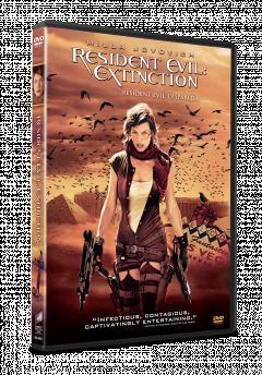 Resident Evil: Disparitia / Resident Evil: Extinction - DVD